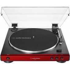 AUDIO-TECHNICA AT-LP60X RED