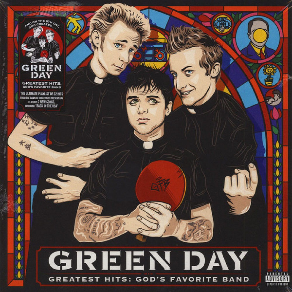 Альбом Greatest Hits: God's Favorite Band