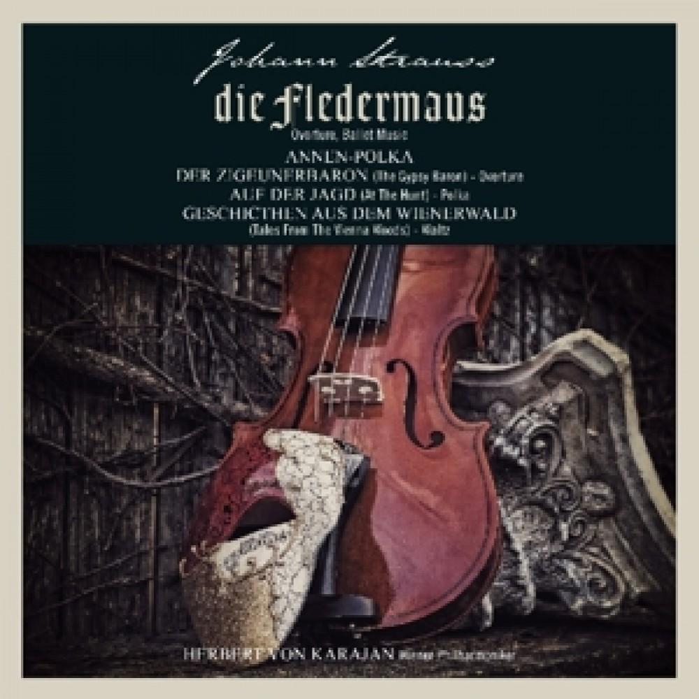 Альбом Die Fledermaus/Zigeunerbaron/Geschichten Aus Dem Wiener
