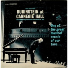 Highlights From Rubinstein At Carnegie Hall
