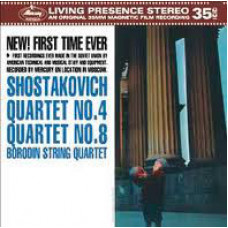 String Quartets Nos.4 & 8
