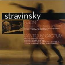 Agon - a Ballet For Twelve Dancers/Canticum Sacrum