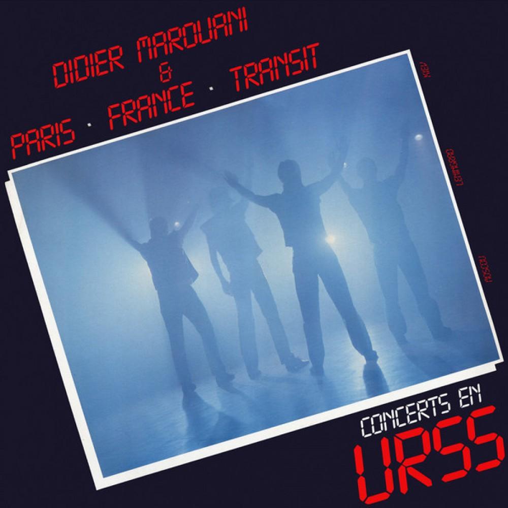 Didier Marouani & Paris-France-Transit - Concerts En URSS (Silver Vinyl)