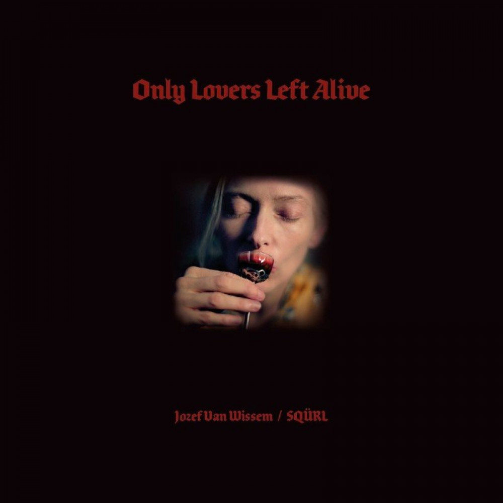 Only Lovers Left Alive (Clear with Red Splatter)